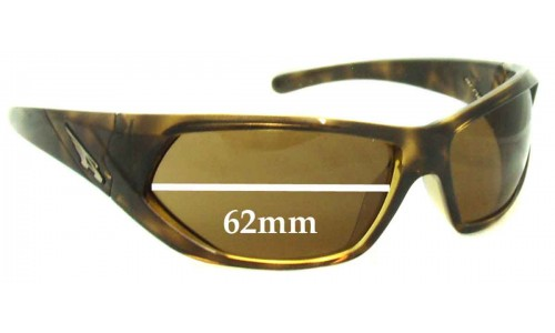 Arnette Slander AN4108 Replacement Sunglass Lenses - 62mm wide