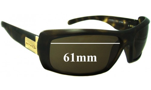 Arnette Chamber AN4111 Replacement Sunglass Lenses - 61mm Wide