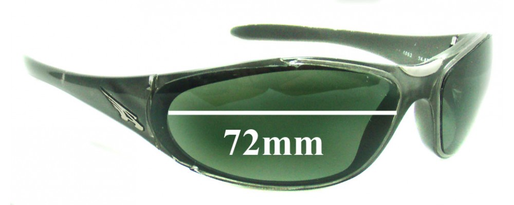 Arnette Burner AN4063 Replacement Sunglass Lenses - 69mm wide - Sorry, we can not make lenses for these frames at this time