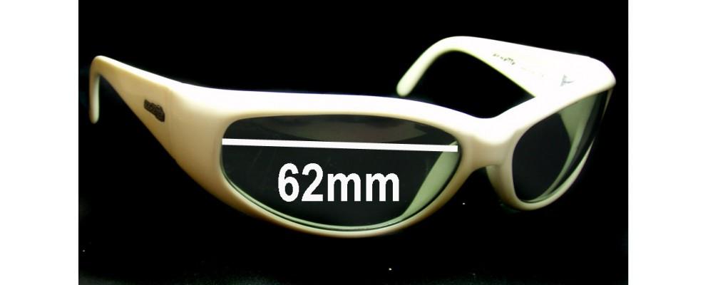 Arnette Catfish model AN222 Replacement Sunglass Lenses - 62mm wide