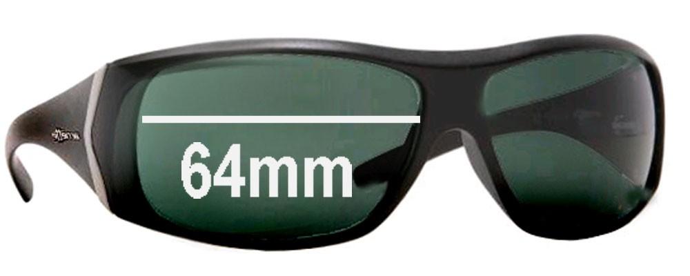 Arnette AN4092 Cypher Replacement Sunglass Lenses - 64mm wide