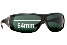 Arnette AN4092 Cypher Replacement Sunglass Lenses - 64mm wide