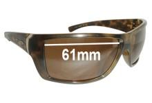 Sunglass Fix New Replacement Lenses for Arnette Defy AN4124 - 61mm Wide