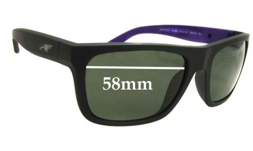 Arnette Dropout AN4176 Replacement Sunglass Lenses - 58mm wide