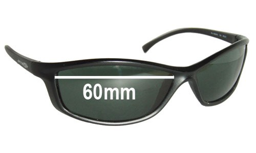 Arnette RAJ1823AA Replacement Sunglass Lenses - Lens Width 60mm
