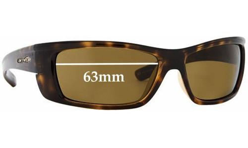 Arnette Slammer AN4115 Replacement Sunglass Lenses - 63mm Across