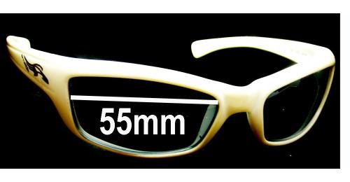 Arnette Tantrum Sunglasses  arnette tantrum an4037 replacement sunglass lenses 55mm wide