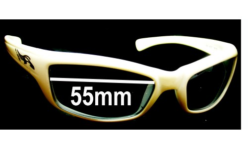 Sunglass Fix Replacement Lenses for Arnette Tantrum AN4037 - 55mm wide