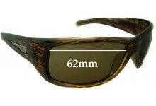 Arnette Wolfman 4137 Replacement Sunglass Lenses - 62mm Wide