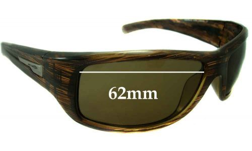 Sunglass Fix Replacement Lenses for Arnette Wolfman 4137 - 62mm Wide
