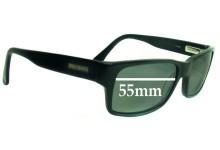Bill Bass Justin Replacement Sunglass Lenses - 55mm wide