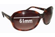 Bill Bass Gem Replacement Sunglass Lenses - 61mm wide