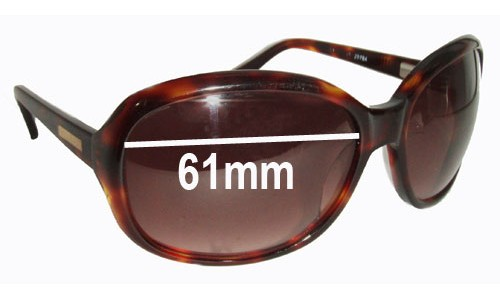 Bill Bass Gem Replacement Sunglass Lenses - 61mm wide