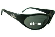 Bill Bass Replacement Sunglass Lenses - 64mm wide