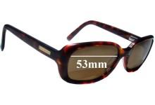 Bill Bass Bella Replacement Sunglass Lenses - 53mm wide