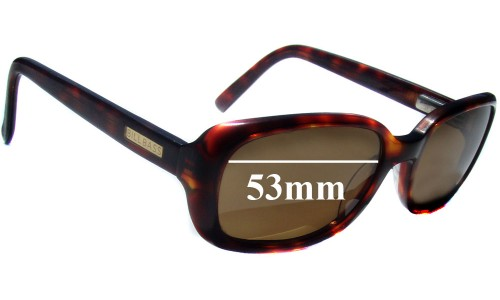 Bill Bass Bella Replacement Sunglass Lenses - 53mm wide