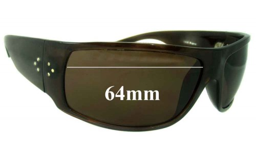Blinde Unknown Model Replacement Sunglass Lenses - 64mm wide