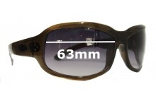 Sunglass Fix New Replacement Lenses for Blinde Perfectly Panicked - 63mm Wide