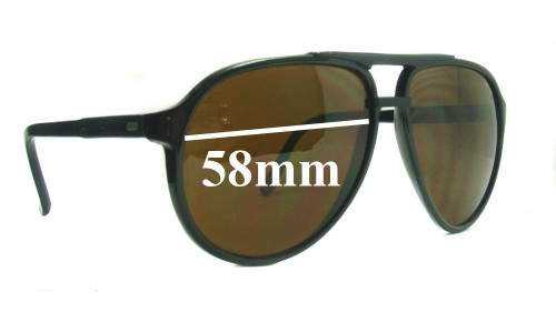 Bolle 373 Replacement Sunglass Lenses - 58mm Wide