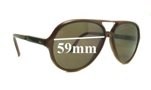 Bolle 374 Replacement Sunglass Lenses - 59mm Wide