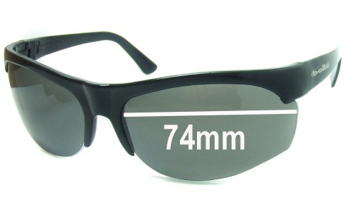Bolle Bat Replacement Sunglass Lenses - 74mm Wide