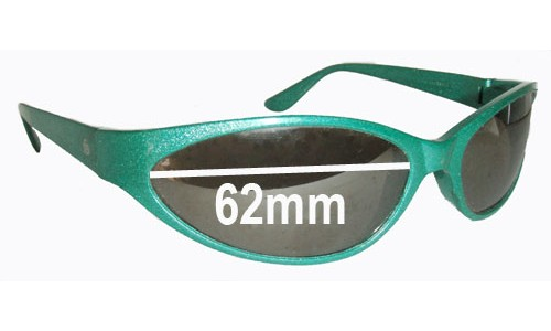 Original Style Bolle Boa Replacement Sunglass Lenses - 62mm Wide