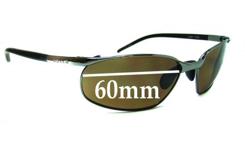 Bolle Cruise Replacement Sunglass Lenses - 60mm Wide