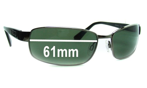 Bolle Delancey Replacement Sunglass Lenses - 61mm Wide