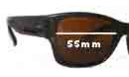Bolle IREX 100 & Bolle Acrylex 435 Replacement Sunglass Lenses - 55mm