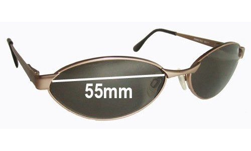 Bolle Lithia Replacement Sunglass Lenses - 55mm wide
