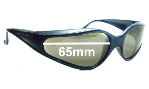 Bolle Mad Cat Replacement Sunglass Lenses - 65mm wide