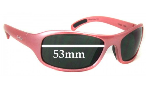 Bolle Mauritius Fang Jr Replacement Sunglass Lenses 53mm wide