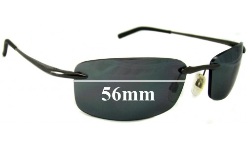 Bolle Meltdown Replacement Sunglass Lenses - 56mm wide
