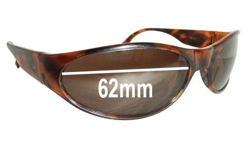 Bolle Piraja Replacement Sunglass Lenses - 62mm across
