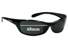 7b766652f6 Bolle Raptor Replacement Sunglass Lenses - 68mm Wide Lenses