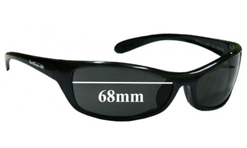 Bolle Raptor Replacement Sunglass Lenses - 68mm Wide Lenses