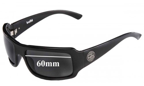 Bolle Slap Replacement Sunglass Lenses - 60mm Wide