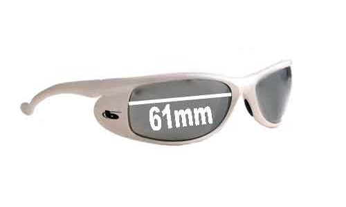 Bolle Slipstream Replacement Sunglass Lenses - 61mm Wide