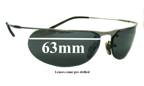 Bolle Unknown Replacement Sunglass Lenses - 63mm Wide