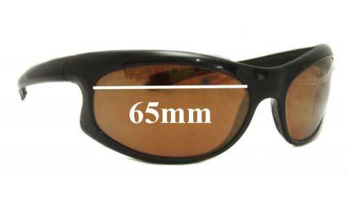 Bolle Vapor Replacement Sunglass Lenses 65mm wide