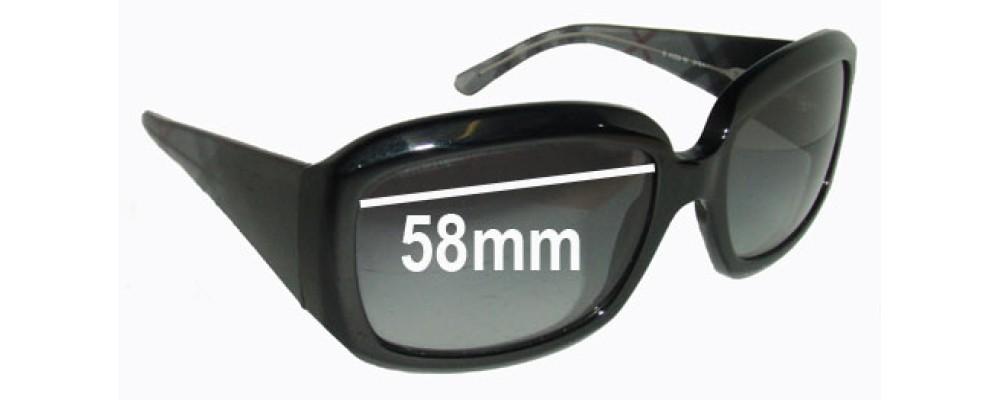 2777c16b8e4 Burberry B 4039 Replacement Sunglass Lenses - 58mm Wide