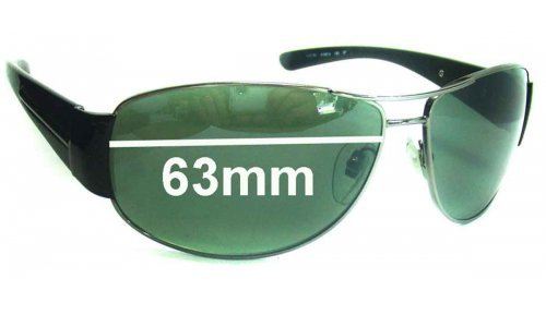Bvlgari BV5007 Replacement Sunglass Lenses - 63mm wide