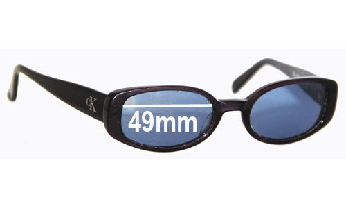 Calvin Klein 4022 Replacement Sunglass Lenses - 49mm wide