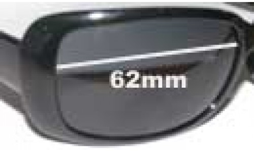 Calvin Klein 3059S Replacement Sunglass Lenses - 62mm wide