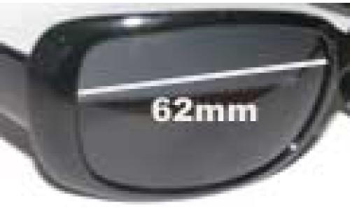 Calvin Klein 3059S Replacement Sunglass Lenses - 62mm wide