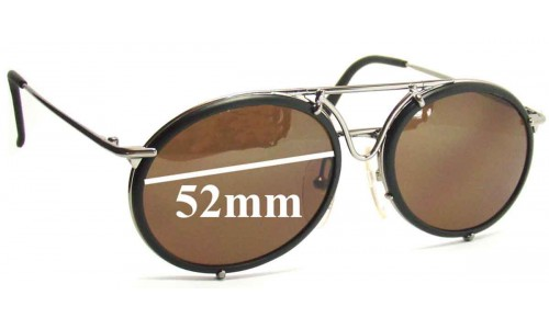 Carrera 5661 Replacement Sunglass Lenses -52mm wide