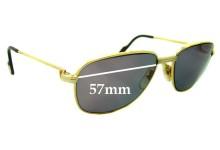 Cartier CO710 New Sunglass Lenses - 57mm wide