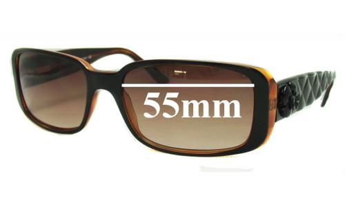 Chanel 5111 New Sunglass Lenses - 55mm wide