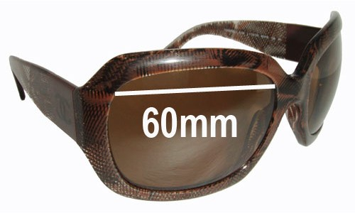 CHANEL 5146 New Sunglass Lenses - 60mm wide