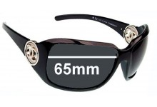 Chanel 6023 Replacement Sunglass Lenses - 65mm wide x 47mm tall